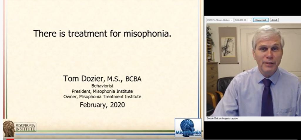 There is treatment for misophonia